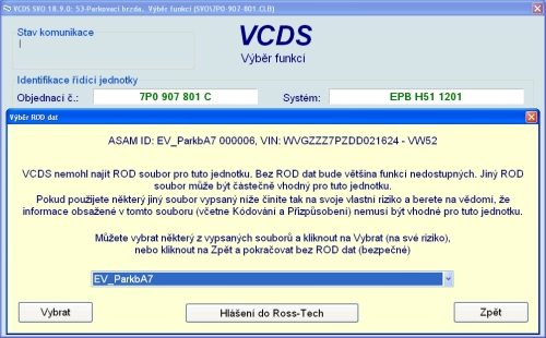 VCDS ROD
